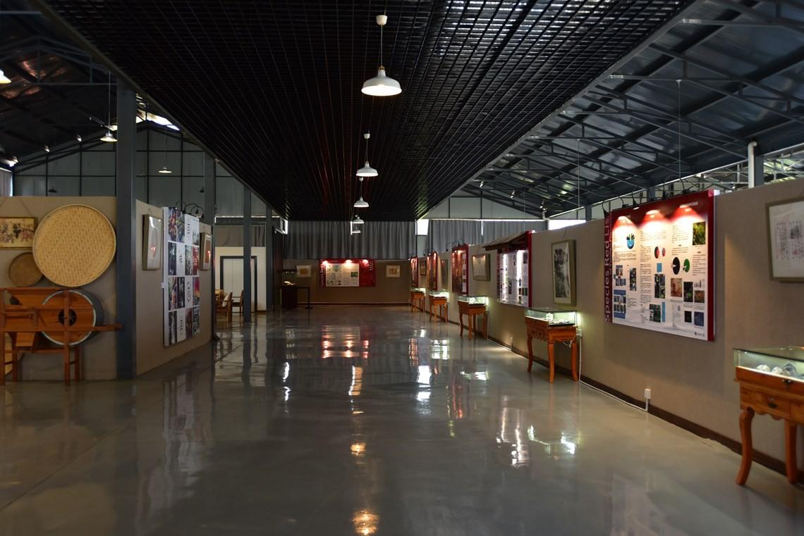 红色物种名录长廊