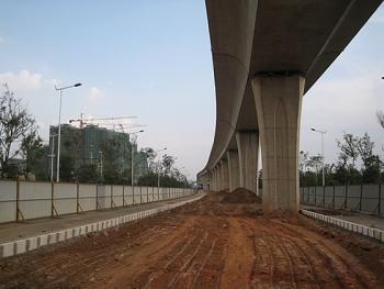 昆明轨道交通首期工程和长丰地产项目开工在即