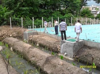 工程验收领导对利鲁公司建设项目给予了充分肯定