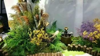 """""""梦之草""""参加2015中国(上海)园林景观产业博览会"""