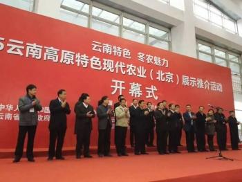 热烈庆祝云南高原特色现代农业展示推荐活动胜利召开